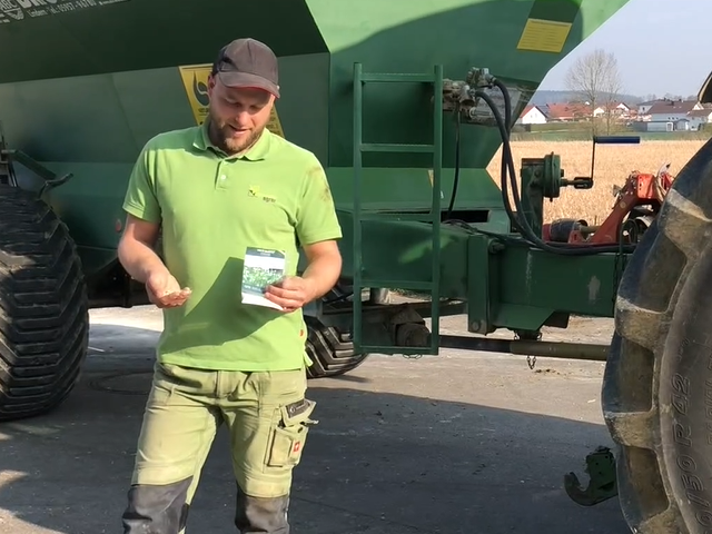 Gipseinsatz beim Mais? Der Landwirt des Jahres 2017 Georg Mayerhofer probiert es aus!