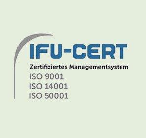 IFU-CERT - Zertifiziertes Managementsystem